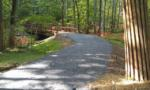 Lake Frank trail connector almost finished