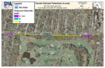 """Clear map of the Wisconsin Ave. """"Green Mile"""" path"""